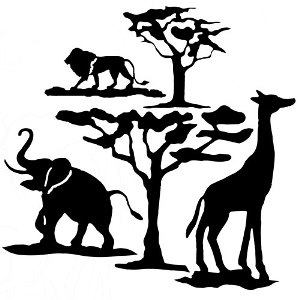 Animal & Nature Silhouettes
