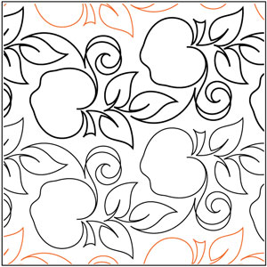 Apple Orchard Border Pantograph