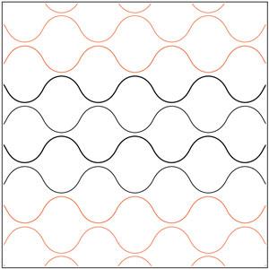 Bubble Wrap Double Take Pantograph