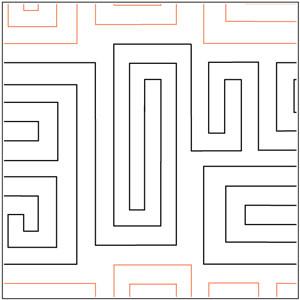 Celtic Maze Pantograph