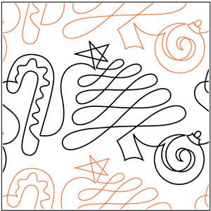 Christmas Doodle Pantograph
