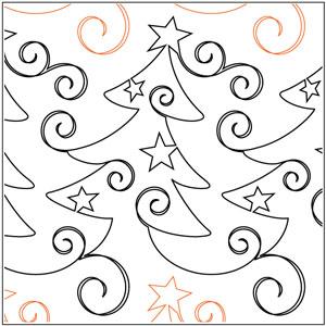 Christmas Whimsy Pantograph
