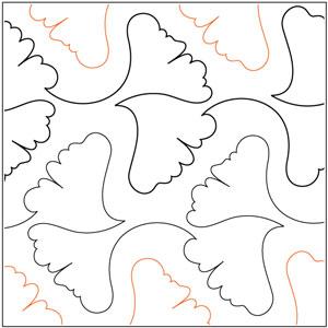 Ginkgo Leaves Pantograph