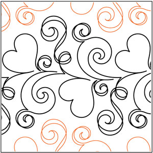 Love Doodle #3 Pantograph