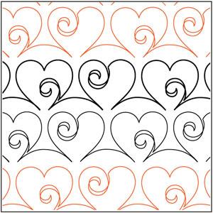 Love Doodle Sashing Pantograph