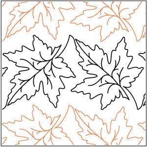 Maple Leaf Border Pantograph