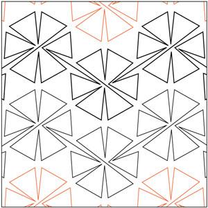 Pinwheel #2 - 60 Degrees Pantograph