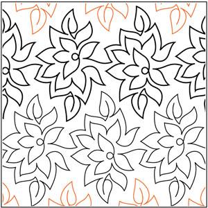Poinsettia Pantograph