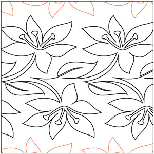 Easter Lily Pantograph