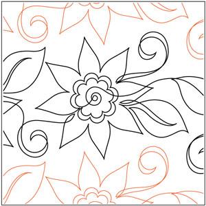 Aquilegias Flower Pantograph