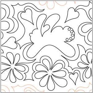 Bunny Blossoms Pantograph