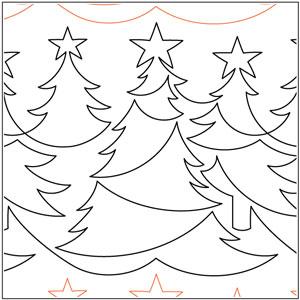 Christmas Forest Pantograph