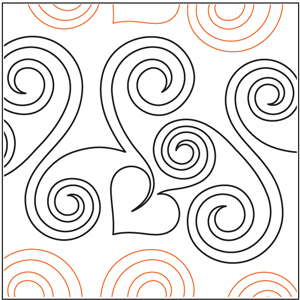Curls and Hearts Pantograph