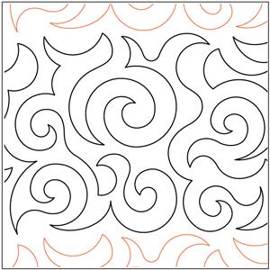 Deb's Swirls Pantograph