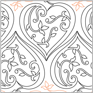 Filigree Paper Hearts Pantograph