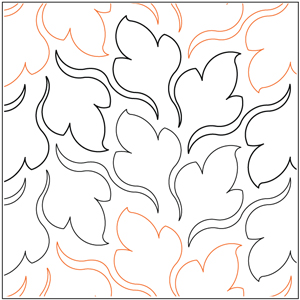 Flutter Leaves Pantograph