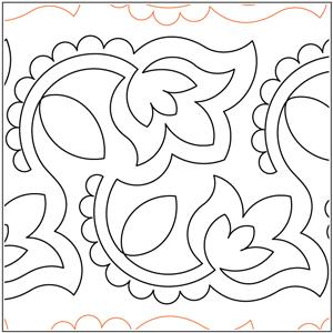 Henna Flowers Pantograph