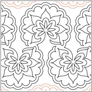 Jaffa Star Flower Pantograph
