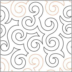 Jessie's Swirls Pantograph