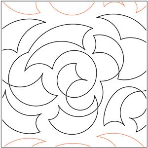 Keryn's Ribbon Rose Pantograph