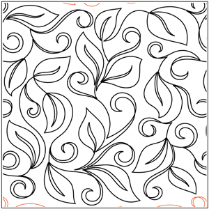 Leafy Swirl Pantograph