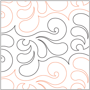 Marbled Feathers Pantograph