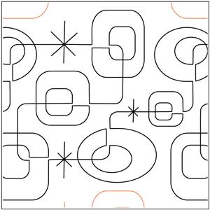 Modern Squares Pantograph
