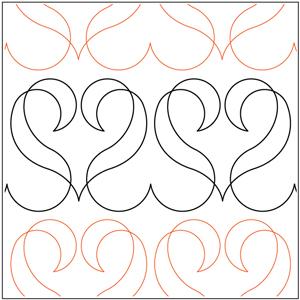 Ribbon Hearts #2 Pantograph