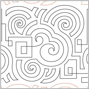 Spiral Maze Pantograph