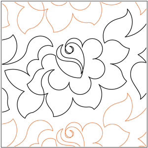 Tea Rose Pantograph