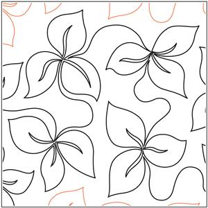 Trillium Leaves Pantograph