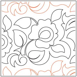 Winter Rose Pantograph