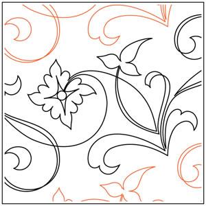 Jessica's Folkart Flowers Pantograph