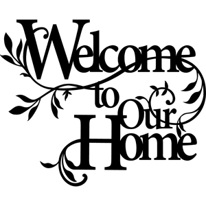 "18"" x 13"" Welcome to our Home - Quilting Creations"
