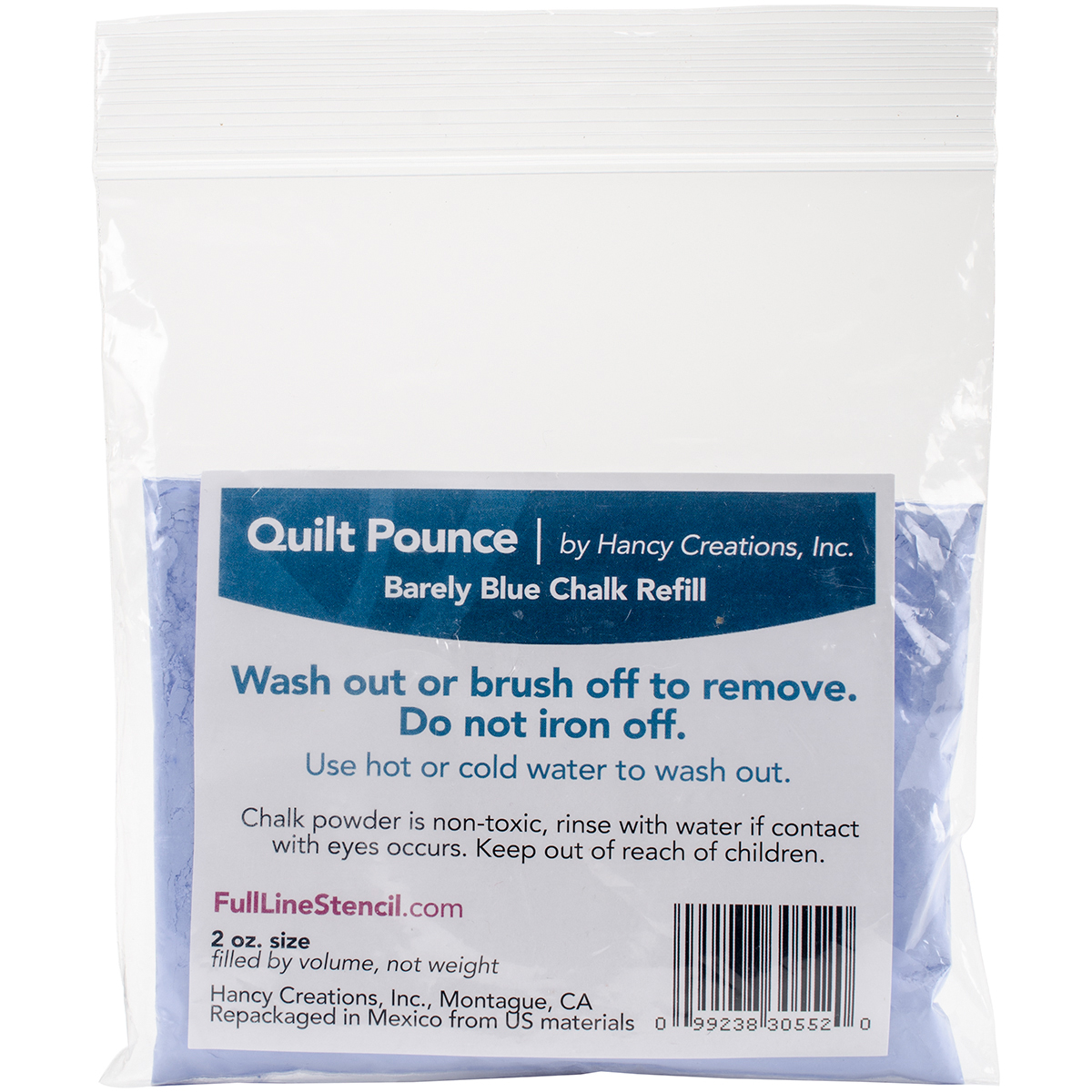 Pounce Pad Refill Blue Quilting Creations